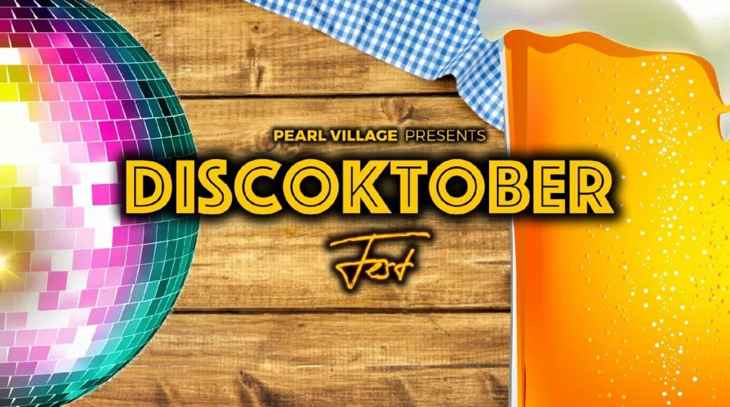 Discoktoberfest Pearl Village Festival